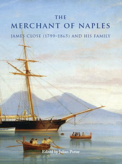 The cover shows James Close's Sibilla in the Bay of Naples in 1863
